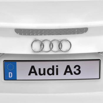 vidaXL Električni Autić sa Daljinskim Upravljačem Audi A3 Bijeli