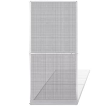 Zaslon protiv insekata za vrata, 100 x 215 cm, bijeli