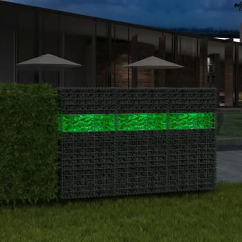 vidaXL Ukrasno Kamenje za Gabion Stakleno Zeleno 60-120 mm 25 kg