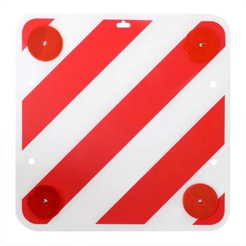Stražnji znak upozorenja, plastični ProPlus s reflektorima 50 x 50 cm