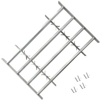 Podesiva Sigurnosna Rešetka za Prozore sa 4 prečke 1000-1500 mm