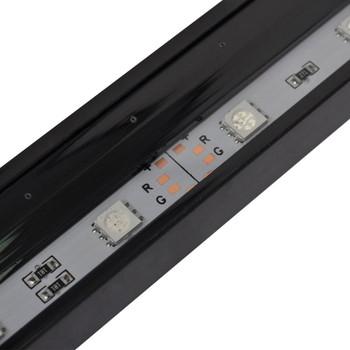 LED mjehurić svjetiljka za akvarij RGB 71 cm