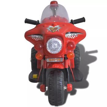 Motocikl na baterije za djecu, crveni