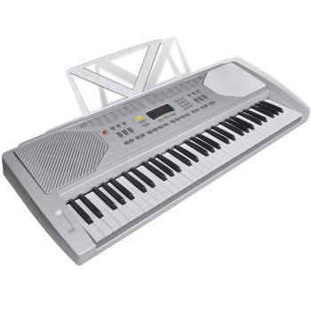 Električna klavijatura s držačem za note, 61 tipka