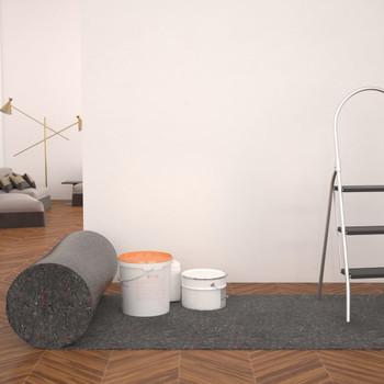 vidaXL Protuklizna zaštitna podloga 50 m 180 g / m² siva