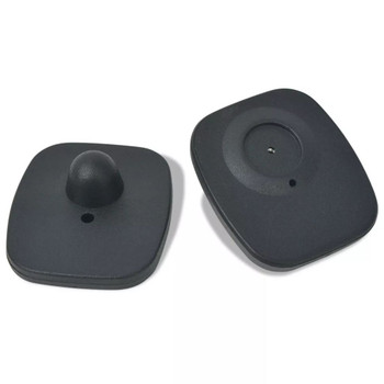 vidaXL Zaštita od krađe RF oznake s pribadačama 1000 setova 8,2 MHz crni