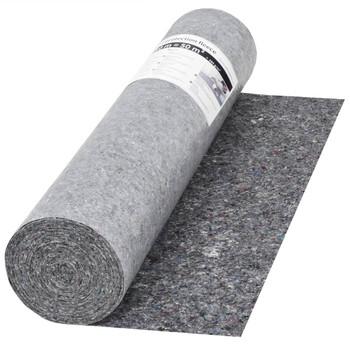 vidaXL Protuklizna zaštitna podloga 50 m 280 g/m² siva