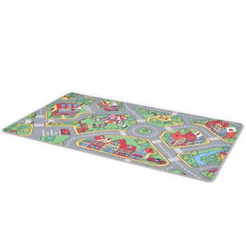 vidaXL Tepih za igranje 80 x 120 cm uzorak gradske ceste