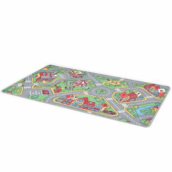 vidaXL Tepih za igranje 90 x 200 cm uzorak gradske ceste
