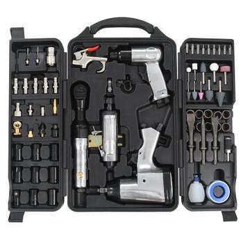 vidaXL Set zračnih alata od 70 dijelova