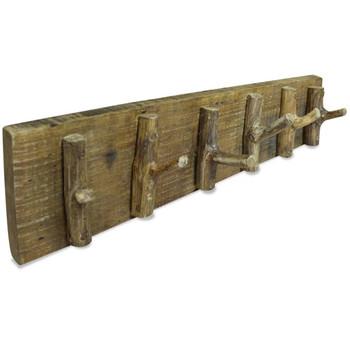 vidaXL Vješalica za kapute od masivnog obnovljenog drva 60 x 15 cm