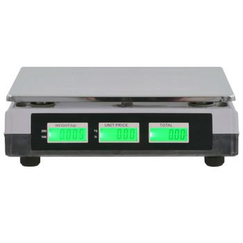 vidaXL Digitalna vaga 30 kg s punjivom baterijom