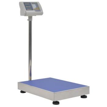 vidaXL Digitalna vaga s platformom 300 kg s punjivom baterijom