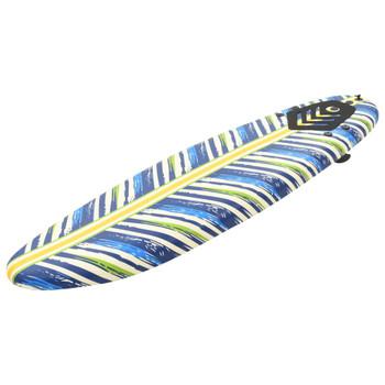vidaXL Daska za surfanje 170 cm s uzorkom lista