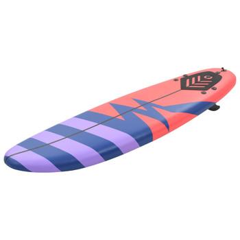 vidaXL Daska za surfanje 170 cm prugasta