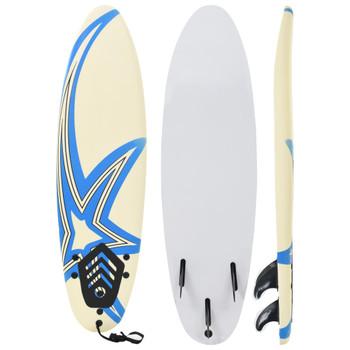 vidaXL Daska za surfanje 170 cm s uzorkom zvijezde