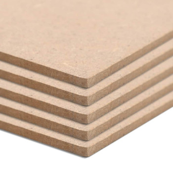 vidaXL Ploče od MDF-a 10 kom kvadratne 60 x 60 cm 2,5 mm