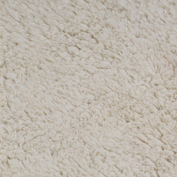 vidaXL 2-dijelni set kupaonskih otirača od tkanine bijeli