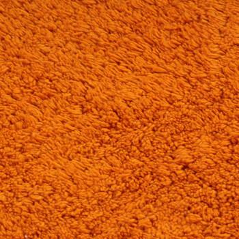 vidaXL 2-dijelni set kupaonskih otirača od tkanine narančasti