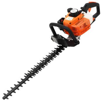 vidaXL Motorne škare za živicu 722 mm narančasto-crne