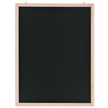 vidaXL Zidna školska ploča od cedrovine 60 x 80 cm
