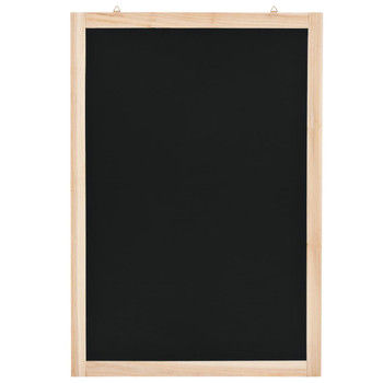 vidaXL Zidna školska ploča od cedrovine 40 x 60 cm