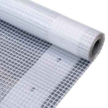 vidaXL Cerada Leno 260 g/m² 2 x 10 m bijela