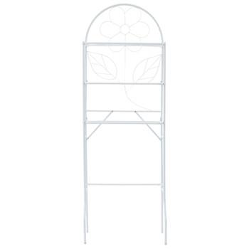 vidaXL Stalak za kupaonicu bijeli 60 x 33 x 174 cm