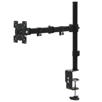 """vidaXL Stolni stalak za monitor 32 """" s jednim krakom podesiva visina"""