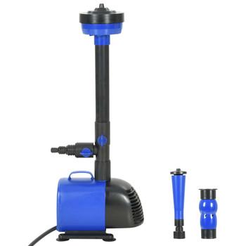 vidaXL Crpka za fontanu 110 W 3000 L/h