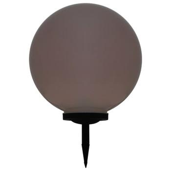 vidaXL Vanjska solarna LED svjetiljka kuglasta 50 cm RGB