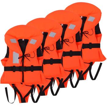 vidaXL Dječji prsluci za spašavanje 4 kom 100 N 20 - 30 kg