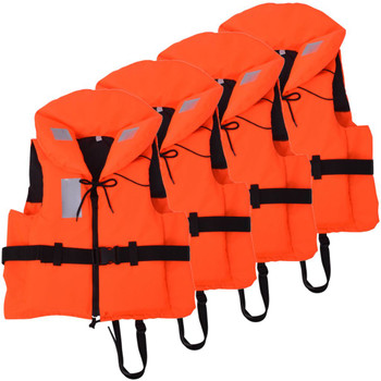 vidaXL Prsluci za spašavanje 4 kom 100 N 30 - 40 kg