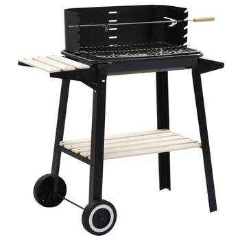 vidaXL Stalak za roštilj na ugljen s kotačima