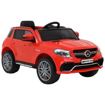 vidaXL Dječji automobil Mercedes Benz GLE63S plastični crveni