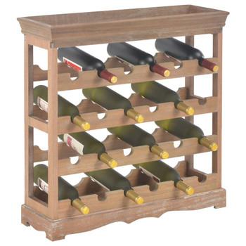vidaXL Ormarić za vino smeđi 70 x 22,5 x 70,5 cm MDF