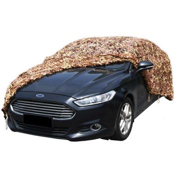 vidaXL Kamuflažna mreža s torbom za pohranu 3 x 3 m