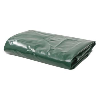 vidaXL Cerada 650 g/m² 1,5 x 10 m zelena