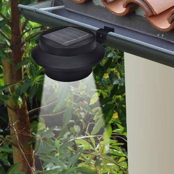 vidaXL Vrtne solarne svjetiljke za ogradu 12 kom LED crne