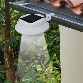 vidaXL Vrtne solarne svjetiljke za ogradu 12 kom LED bijele