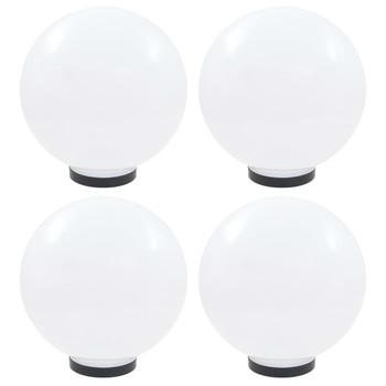 vidaXL LED kuglaste svjetiljke 4 kom 30 cm PMMA