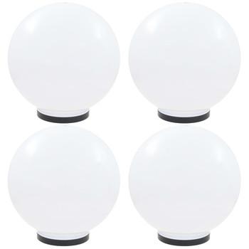 vidaXL LED kuglaste svjetiljke 4 kom 40 cm PMMA