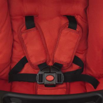 vidaXL Dječja Kolica Buggy Crvena 102x52x100 cm