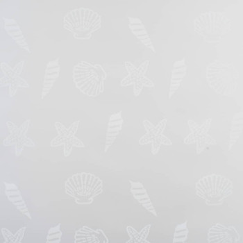vidaXL Rolo zastor za tuš 140 x 240 cm s uzorkom morskih zvijezda