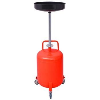 vidaXL Spremnik za otpadno ulje 49,5 L Čelik crvena boja