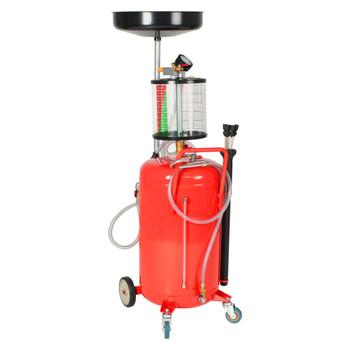 vidaXL Cjedilo za otpadno ulje od čelika 70 L crveno