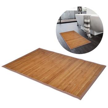 Prostirka za Kupaonicu Bambus 60 x 90 cm Smeđa