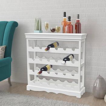 vidaXL Kabinet za Vino 'Abreu' Bijeli