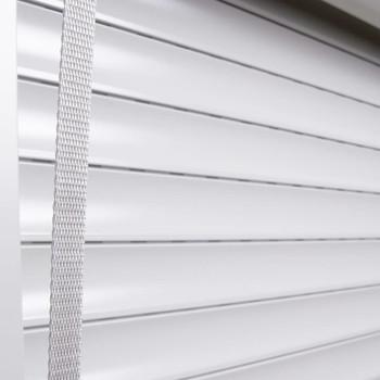 vidaXL Rolete aluminijske 130 x 140 cm bijele
