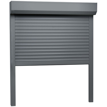 vidaXL Rolete aluminijske 100 x 120 cm antracit